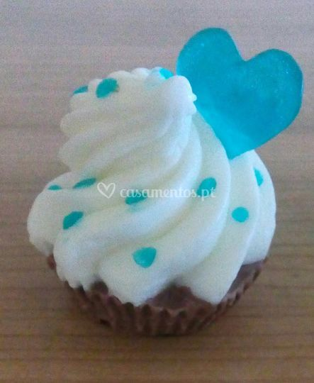 Cupcake noivos