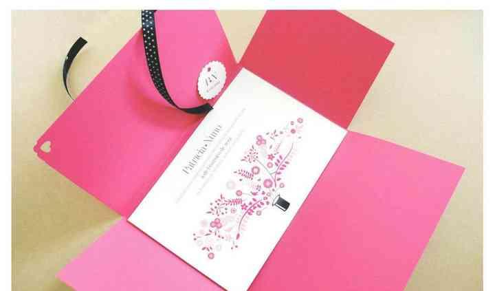 Design gráfico de convites