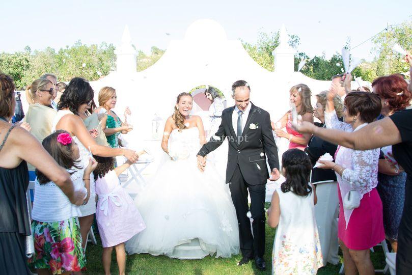 A festa de casamento