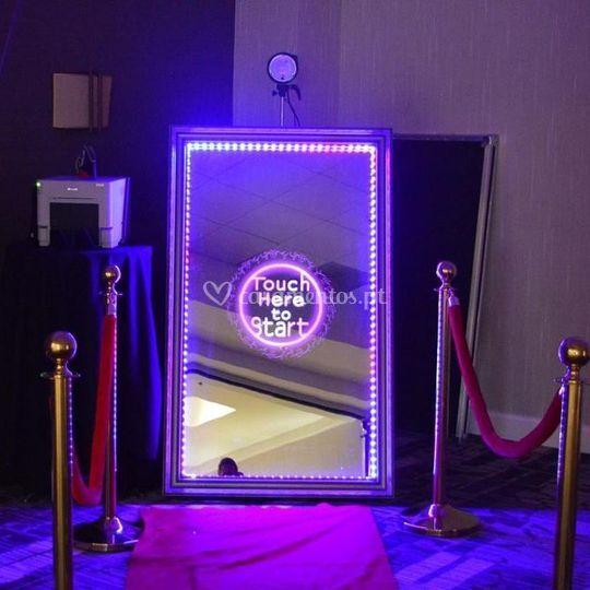 Magic photo booth