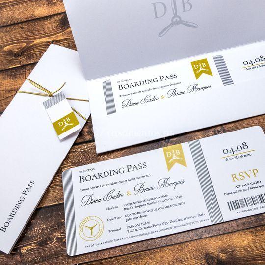 Convite Classic Ticket