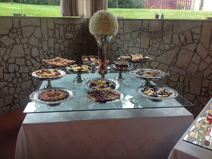 Buffet sobremesa individual