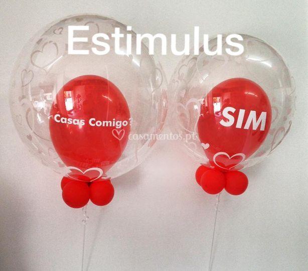 Balões Personalizados de Estimulus - Animação d'Eventos