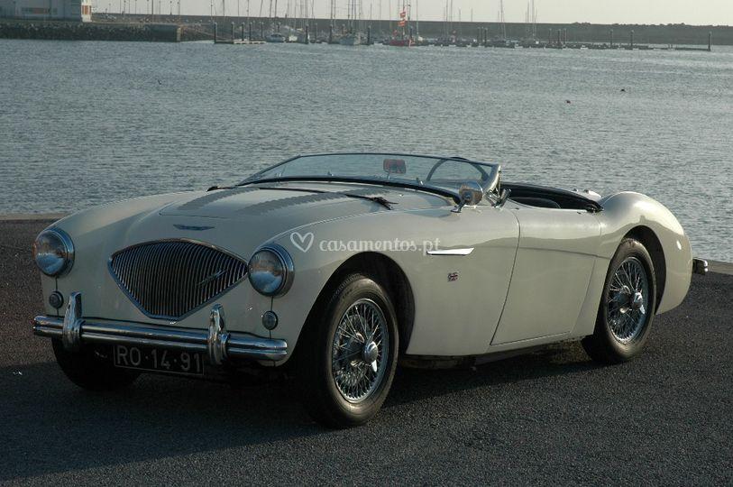 Austin Healey 100/4 de 1955