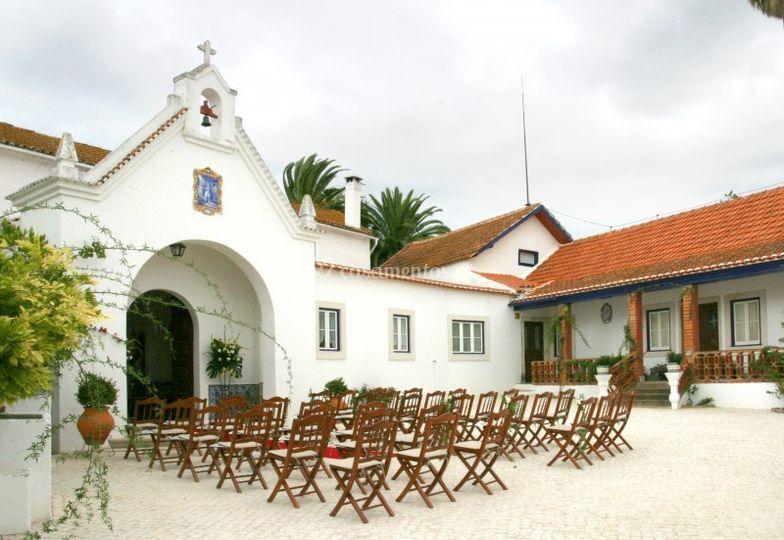Cadeiras para os convidados