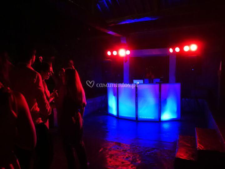 DJ + Som + Luzes A