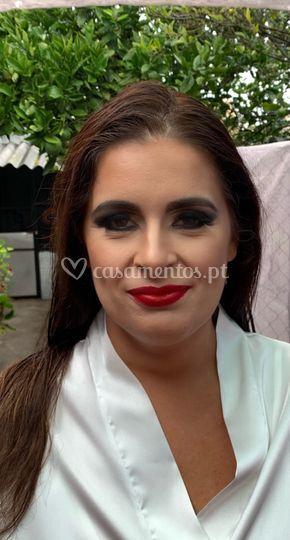 Noiva ousada makeup