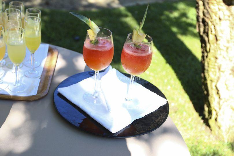 Cocktail boas-vindas