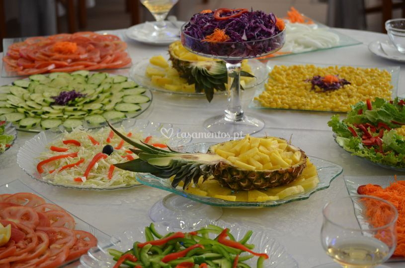 Mesa saladas