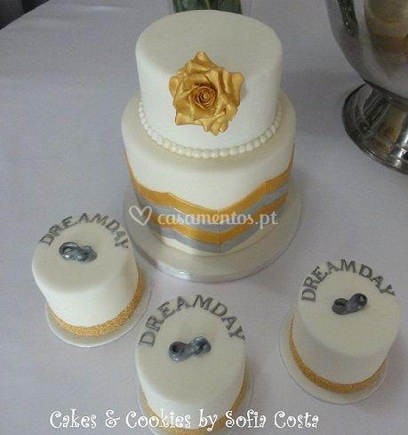 Bolo casamento dia de sonho
