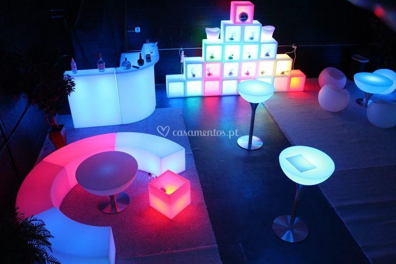 Mobiliario com Luz
