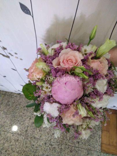 Bouquet em gota