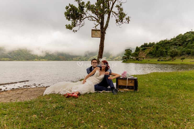 Trash the dress - Sete Cidades