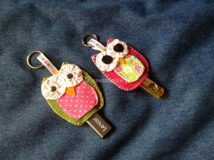 Mocho porta chaves/ porta pen rosa