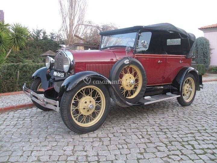 Ford A 1929 casamentos