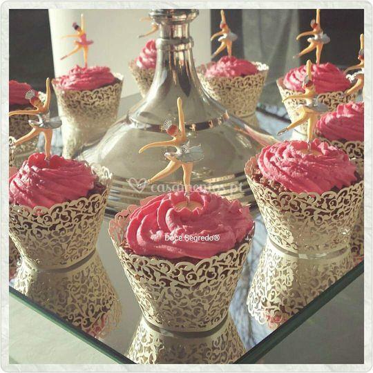 Cupcakes Bailarina