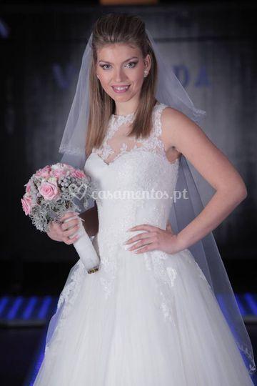 Desfile vestida para casar