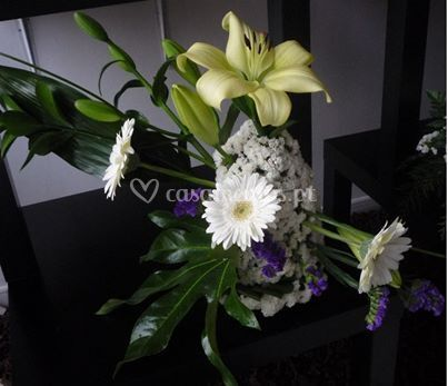 Exemplo de arranjo floral