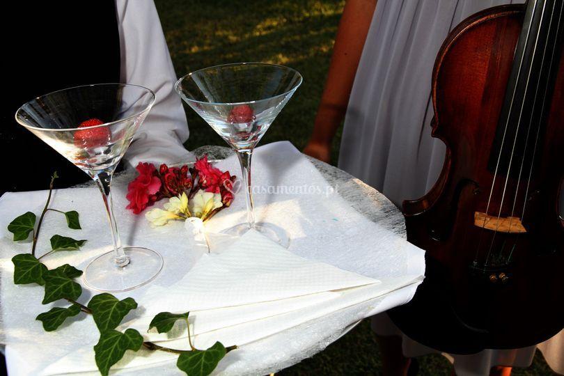 Receção aos noivos
