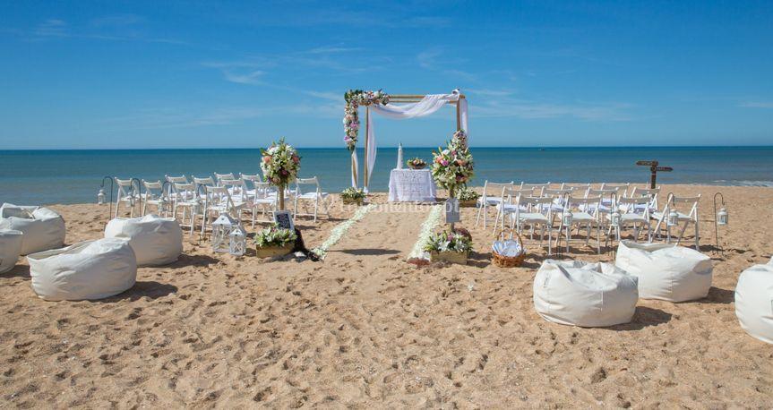 Cerimónia praia