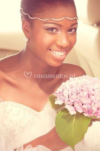 Noiva sorridente