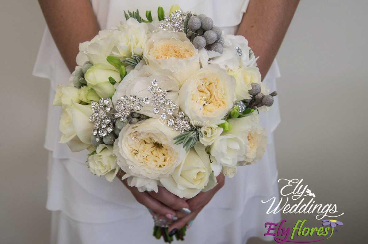 Bouquet com brilhantes
