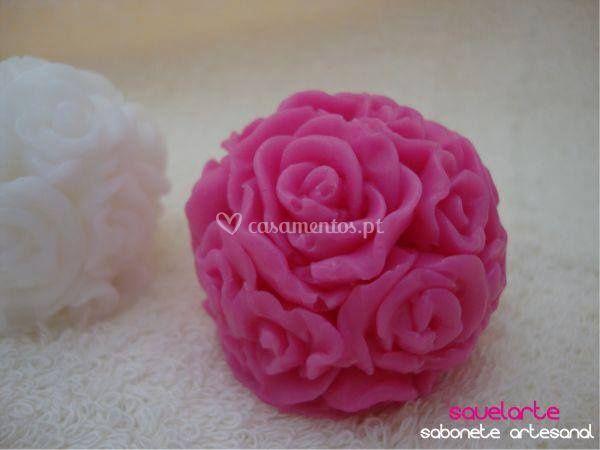Mini bola floral