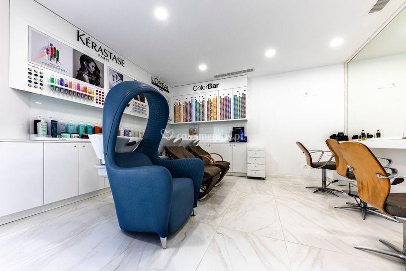Luxury hair spa