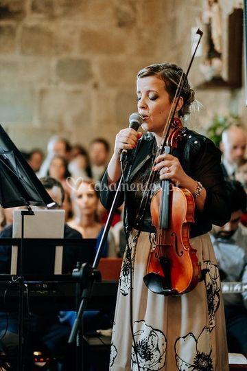Violino e voz