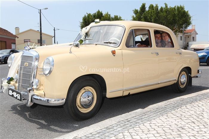 Mercedes 180 lateral