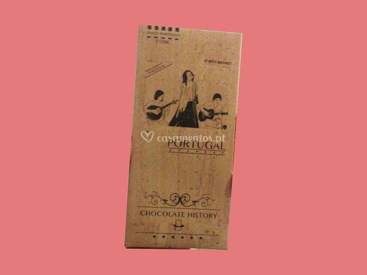 Barra de Chocolate Cortiça