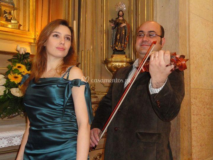 Soprano Voice & Violin