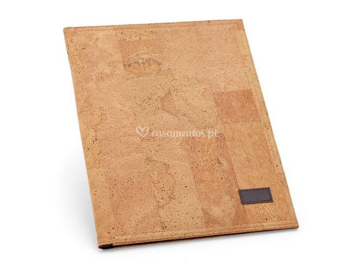 Caderno A5 Cortiça