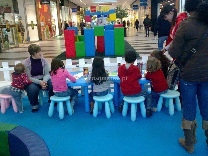 Animação em Centro Comercial