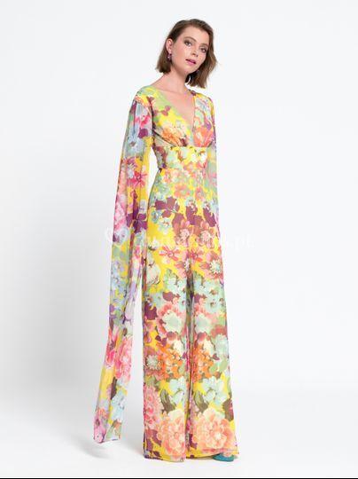 Jumpsuit floral LB