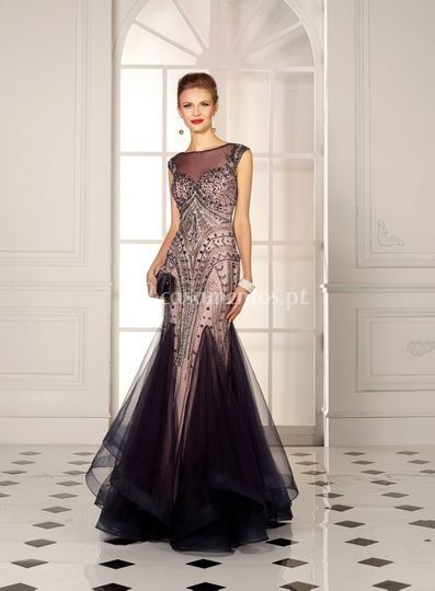 Vestido longo Susanna Rivieri