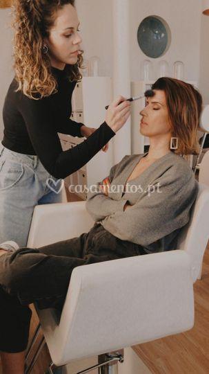 Inês Franco maquilhagem
