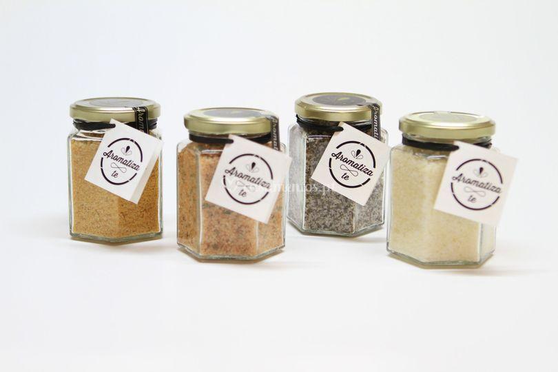Sal + especiarias
