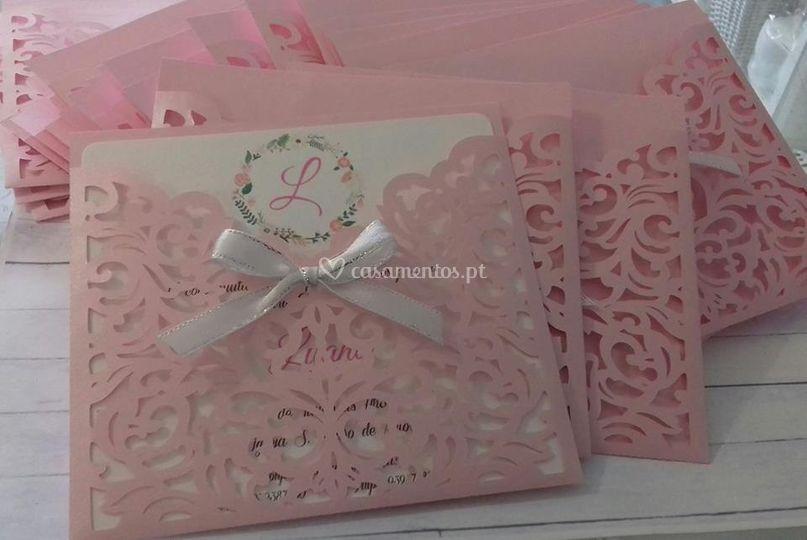 Convites rosa