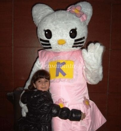 Mascote Hello Kitty