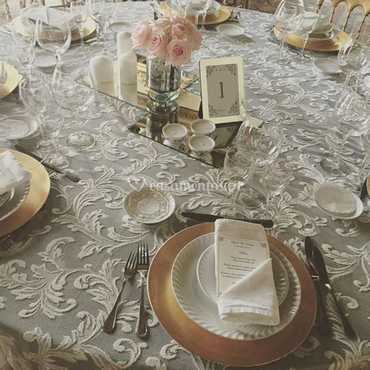 Pormenor das mesas