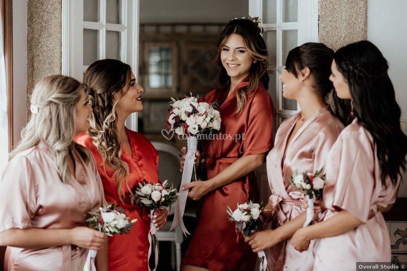 Damas de Honor & Noiva Andrea