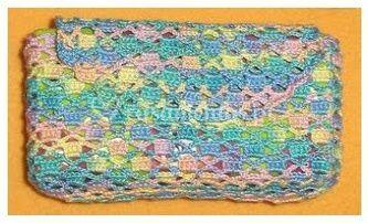 Bolsa para lenços de papel horizontal