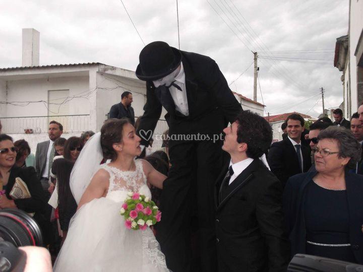 Personagens em Andas