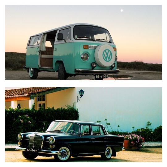 Dois veículos charmosos