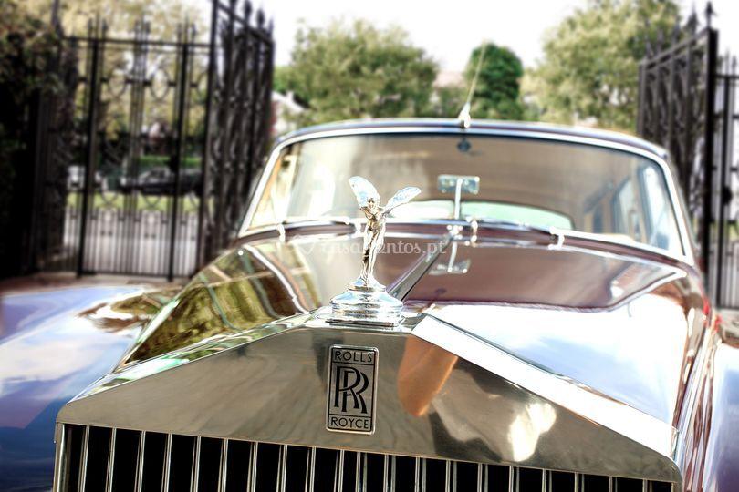 Vintage cars - rolls royce