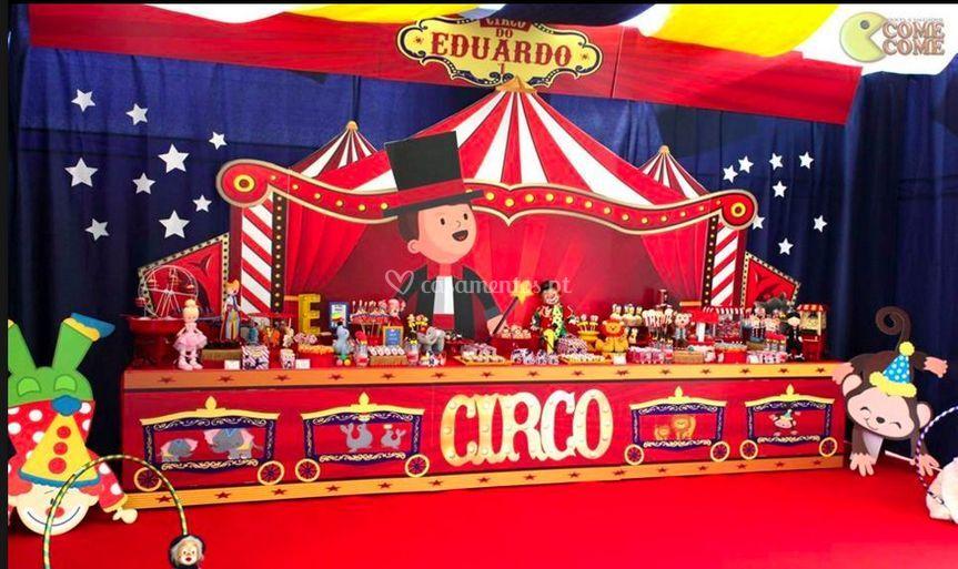 Projecto cenografico circo