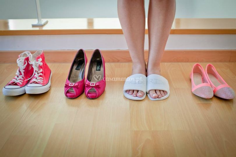 Os chinelos bride