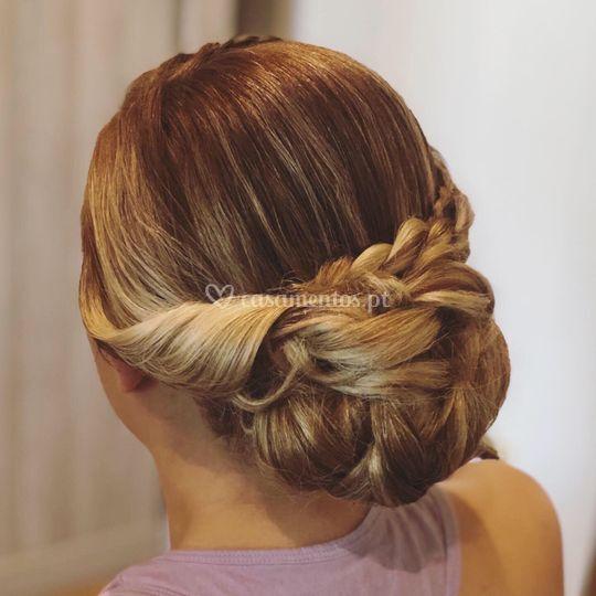 Penteado de noiva de noiva