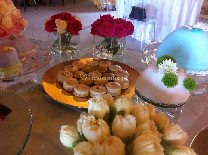 Macarons Buffet